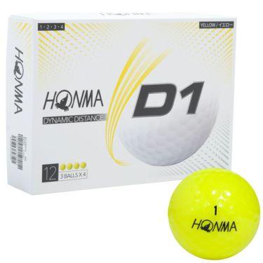 本間ゴルフ D1 ゴルフボール 2020年モデル 1ダース(12球入り) 詳細4