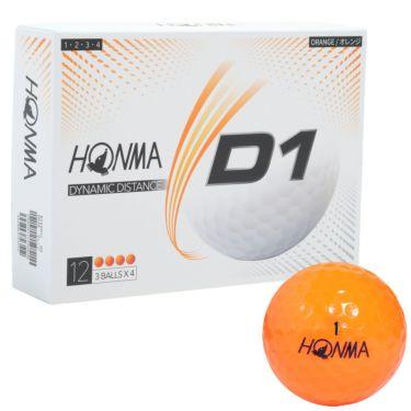本間ゴルフ D1 ゴルフボール 2020年モデル 1ダース(12球入り) 詳細5
