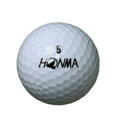 本間ゴルフ D1 ゴルフボール 2020年モデル ホワイト ハイナンバー