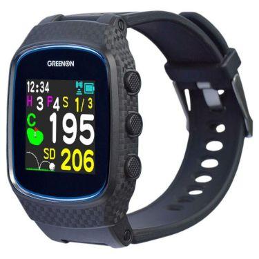 グリーンオン ザ・ゴルフウォッチ ノルム2 腕時計型 GPSゴルフナビ ブラック G018B 2020年モデル ブラック