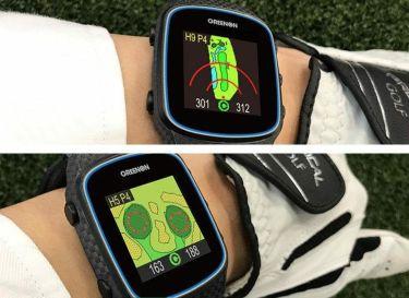 グリーンオン ザ・ゴルフウォッチ ノルム2 腕時計型 GPSゴルフナビ ブラック G018B 2020年モデル 詳細4