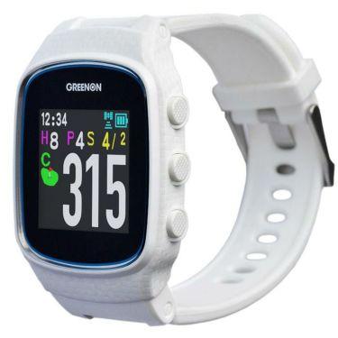 グリーンオン ザ・ゴルフウォッチ ノルム2 腕時計型 GPSゴルフナビ ホワイト G018W 2020年モデル ホワイト
