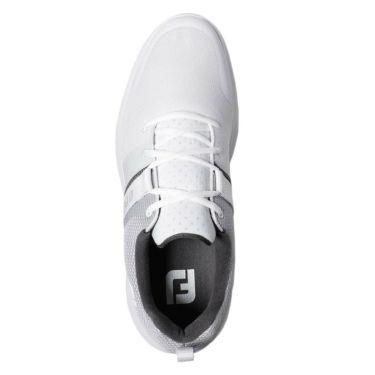 フットジョイ FootJoy FJ FLEX フレックス メンズ スパイクレス ゴルフシューズ 56120 WT ホワイト 2020年モデル 詳細5