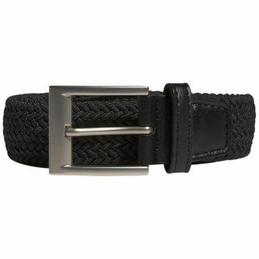 アディダス adidas ストレッチ メッシュ メンズ ベルト FSP82 DZ5784 ブラック/ブラック 2020年モデル ブラック/ブラック(DZ5784)