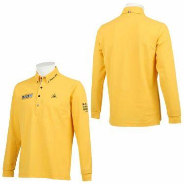 ルコック Le coq sportif メンズ ロゴ刺繍 鹿の子 長袖 ボタンダウン ポロシャツ QGMQJB06 2020年モデル 詳細3