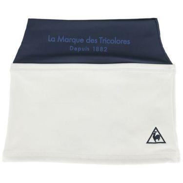 ルコック Le coq sportif メンズ フリース裏地 ネックウォーマー QGBQJK52 WH00 ホワイト 2020年モデル ホワイト(WH00)