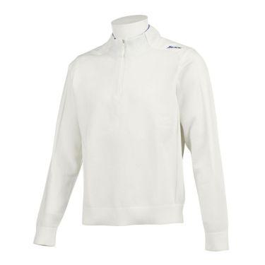 スリクソン SRIXON メンズ 生地切替 撥水 長袖 ハーフジップ セーター RGMQJL03 2020年モデル ホワイト(WH00)