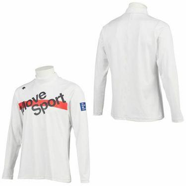 デサントゴルフ DESCENTE GOLF メンズ プリントデザイン 長袖 ハイネックシャツ DGMQJB14 2020年モデル 詳細3