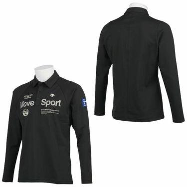 デサントゴルフ DESCENTE GOLF メンズ プリントデザイン 裏起毛 長袖 ポロシャツ DGMQJB15 2020年モデル 詳細3