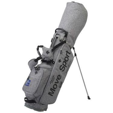 デサントゴルフ DESCENTE GOLF プリントデザイン 軽量 メンズ スタンド キャディバッグ DQBQJJ02 GY00 グレー 2020年モデル グレー(GY00)