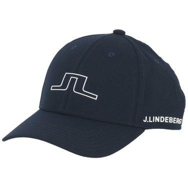 Jリンドバーグ J.LINDEBERG メンズ ロゴプリント キャップ 073-53807 098 ネイビー 2020年モデル ネイビー(098)