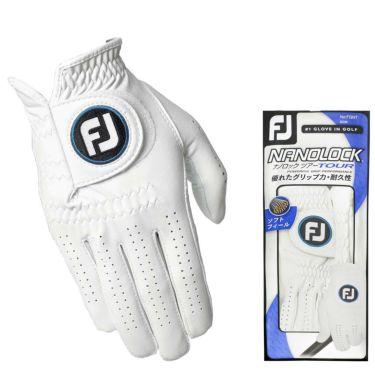フットジョイ FootJoy ナノロックツアー 2020年モデル 右手用 メンズ ゴルフグローブ FGNT20 FGNT0LH WT ホワイト ホワイト(WT)・右手用