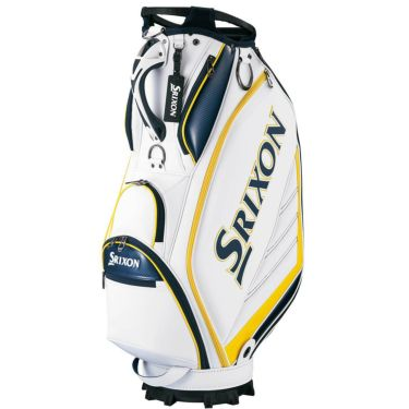 スリクソン SRIXON スポーツレプリカモデル メンズ キャディバッグ GGC-S164 ホワイトイエロー 2020年モデル ホワイトイエロー