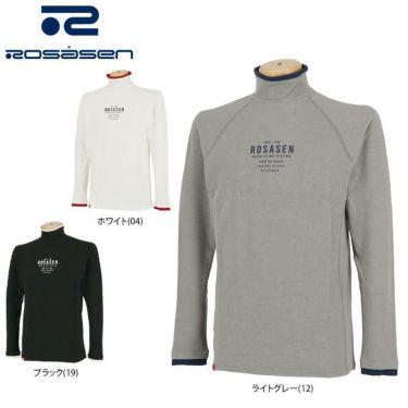 ロサーセン Rosasen メンズ ロゴプリント 長袖 ハイネックシャツ 044-23914 2020年モデル 詳細1