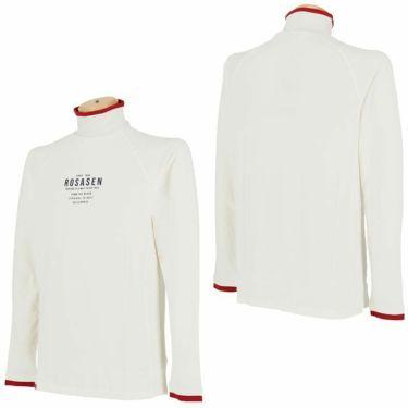 ロサーセン Rosasen メンズ ロゴプリント 長袖 ハイネックシャツ 044-23914 2020年モデル 詳細3