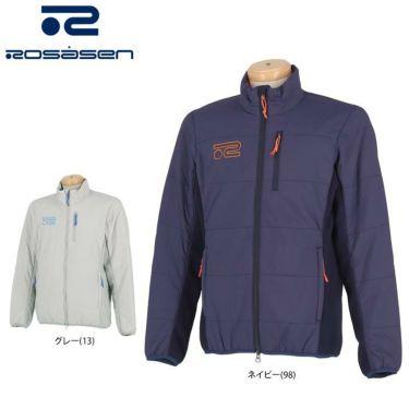 ロサーセン Rosasen メンズ ロゴ刺繍 中綿 長袖 フルジップ ブルゾン 044-53012 2020年モデル 詳細1