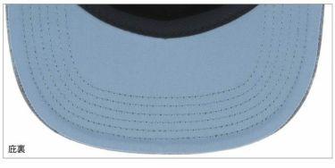 ロサーセン Rosasen 撥水 カモフラージュ柄 フラットブリム メンズ キャップ 046-53834 98 ネイビー 2020年モデル 詳細1