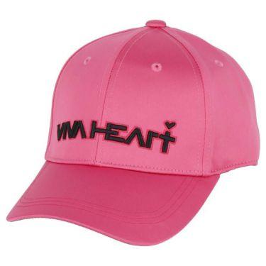 ビバハート VIVA HEART レディース 立体ロゴ刺繍 サテン キャップ 013-53861 74 ピンク 2020年モデル ピンク(74)