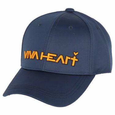ビバハート VIVA HEART レディース 立体ロゴ刺繍 サテン キャップ 013-53861 98 ネイビー 2020年モデル ネイビー(98)