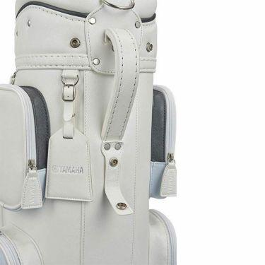 ヤマハ キャスター付き レディース キャディバッグ Y21CBL W ホワイト 2021年モデル 詳細4