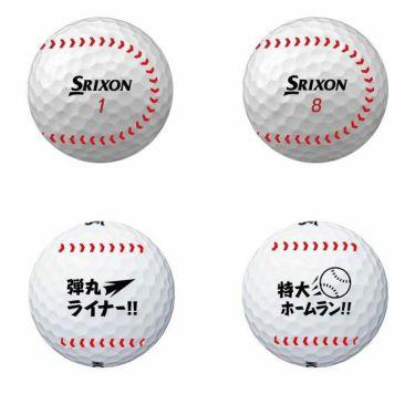 スリクソン SRIXON X2 エックスツー かっ飛ばせ ゴルフボール 1ダース(12球入り) 詳細1