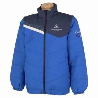 ルコック Le coq sportif メンズ 撥水 中綿 2WAY フルジップ ブルゾン QGMQJK04 2020年モデル ブルー(BL00)