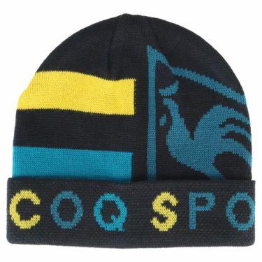ルコック Le coq sportif メンズ ロゴジャカード ニットキャップ QGBQJC09 NV01 ネイビー/マルチ 2020年モデル ネイビー/マルチ(NV01)