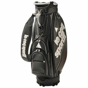 ルコック Le coq sportif メンズ キャディバッグ QQBPJJ03 BK00 ブラック 2020年モデル ブラック(BK00)