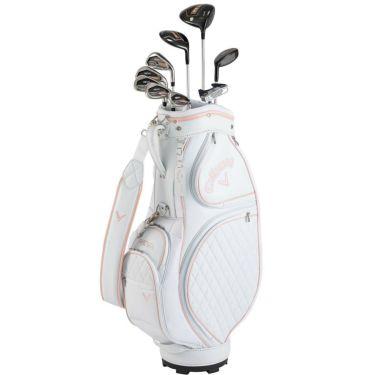 キャロウェイ REVA レヴァ レディース ゴルフクラブセット (9本セット+キャディバッグ) ローズゴールド 2021年モデル