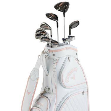 キャロウェイ REVA レヴァ レディース ゴルフクラブセット (9本セット+キャディバッグ) ローズゴールド 2021年モデル 詳細1