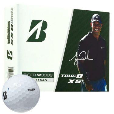 ブリヂストン TOUR B XS ツアーB エックスエス タイガーウッズ エディション3 ゴルフボール 1ダース(12球入り) 2020年モデル TIGERホワイト(SOWXT3)