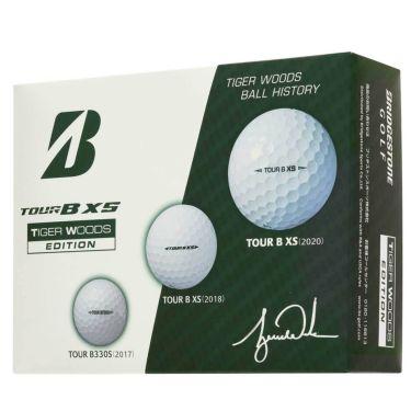 ブリヂストン TOUR B XS ツアーB エックスエス タイガーウッズ エディション3 ゴルフボール 1ダース(12球入り) 2020年モデル TIGERホワイト(SOWXT3) 詳細2