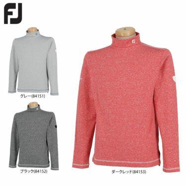 フットジョイ FootJoy メンズ 裏起毛 長袖 モックネックシャツ FJ-F20-S17 2020年モデル 詳細1