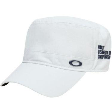オークリー OAKLEY メンズ SKULL WORK 14.0 エリプスロゴ ワークキャップ FOS900437 100 ホワイト 2020年モデル ホワイト(100)