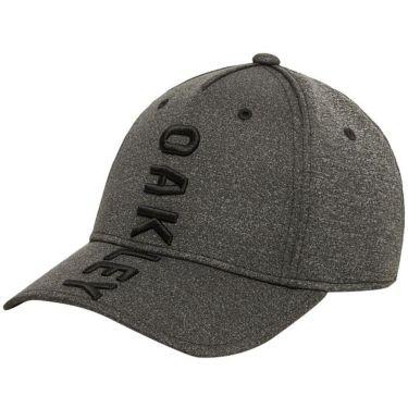 オークリー OAKLEY メンズ ESSENTIAL VERTICAL CAP 14.0 バーティカル キャップ FOS900449 00H ブラックヘザー 2020年モデル ブラックヘザー(00H)