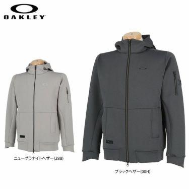 オークリー OAKLEY メンズ SKULL ストレッチ ダブルニット 長袖 フルジップ フーディー FOA401676 2020年モデル 詳細1
