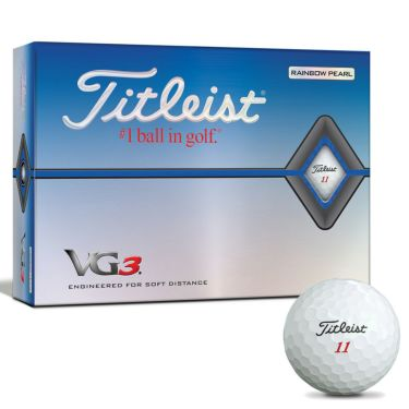 タイトリスト VG3 2020年モデル ゴルフボール 1ダース(12球入り) レインボーパール