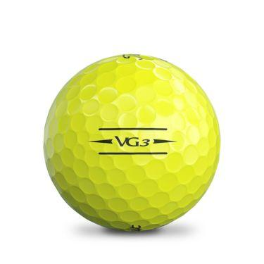 タイトリスト VG3 2020年モデル ゴルフボール 1ダース(12球入り) イエローパール 詳細3