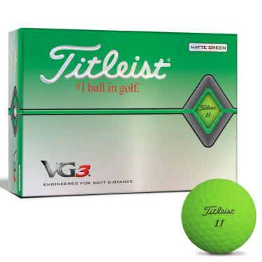 タイトリスト VG3 2020年モデル ゴルフボール 1ダース(12球入り) マットグリーン マットグリーン