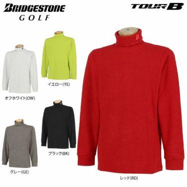 ブリヂストンゴルフ TOUR B メンズ 起毛生地 ロゴ刺繍 長袖 タートルネックシャツ SGM30F 2020年モデル 詳細1