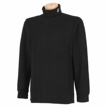 ブリヂストンゴルフ TOUR B メンズ 起毛生地 ロゴ刺繍 長袖 タートルネックシャツ SGM30F 2020年モデル ブラック(BK)