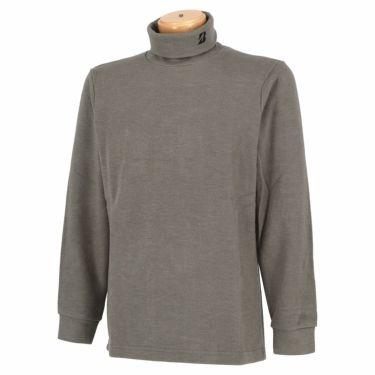 ブリヂストンゴルフ TOUR B メンズ 起毛生地 ロゴ刺繍 長袖 タートルネックシャツ SGM30F 2020年モデル グレー(GE)