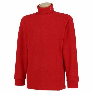 ブリヂストンゴルフ TOUR B メンズ 起毛生地 ロゴ刺繍 長袖 タートルネックシャツ SGM30F 2020年モデル レッド(RD)