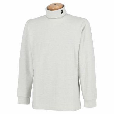 ブリヂストンゴルフ TOUR B メンズ 起毛生地 ロゴ刺繍 長袖 タートルネックシャツ SGM30F 2020年モデル オフホワイト(OW)
