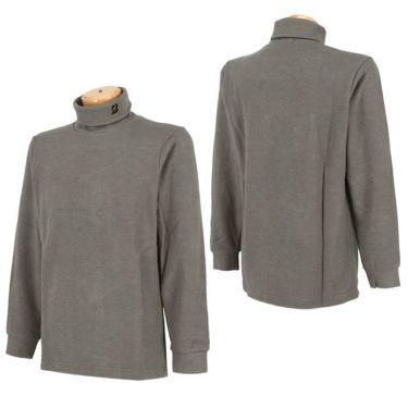 ブリヂストンゴルフ TOUR B メンズ 起毛生地 ロゴ刺繍 長袖 タートルネックシャツ SGM30F 2020年モデル 詳細3