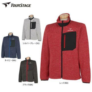 ツアーステージ TOURSTAGE メンズ フリース 長袖 フルジップ ブルゾン STT91D 詳細1