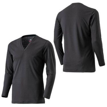 ミズノ MIZUNO メンズ ブレスサーモアンダー 長袖 Vネック インナーシャツ C2JA0610 2020年モデル 詳細3
