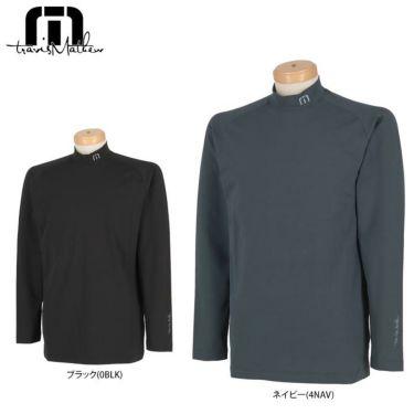 トラヴィスマシュー Travis Mathew メンズ ロゴ刺繍 長袖 ラグランスリーブ モックネックシャツ 7AC115 2020年モデル
