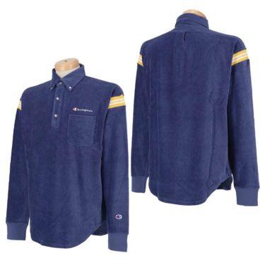 チャンピオンゴルフ Champion GOLF メンズ ストレッチ コーデュロイ 長袖 ボタンダウン ポロシャツ C3-SG406 2020年モデル 詳細3