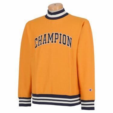 チャンピオンゴルフ Champion GOLF メンズ ストレッチ 長袖 モックネックシャツ C3-SG408 2020年モデル イエロー(740)